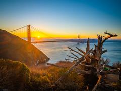 Golden Gate Bridge Battery Spencer Solstice Sunrise California Fine Art Fuji GFX100 Landscape Photography! Ocean Art Seascape!  Elliot McGucken Landscape Nature Photography Fuji GFX 100 & FUJINON Fujifilm FUJIFILM GF 23mm f/4 R LM WR Lens Wide Angle