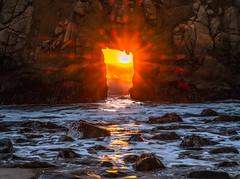 Big Sur California Keyhole Rock Sunset Pfeiffer Beach Fine Art Fuji GFX100 Landscape Photography! Big Sur Scenic Solstice!  Elliot McGucken Master Medium Format Landscape Nature Photography Fuji GFX 100 & FUJINON Fujifilm GF 45-100mm f/4 R LM OIS WR Lens