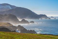 Beautiful Big Sur Scenic Coastline California Keyhole Rock Sunset Pfeiffer Beach Fine Art Fuji GFX100 Landscape Photography! Big Sur Scenic Solstice!  Elliot McGucken Master Medium Format Fuji GFX 100 & FUJIFILM GF 100-200mm f/5.6 R LM OIS WR Lens