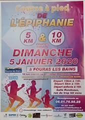 22 em compétition, Dimanche 5 janvier 2020, Courses de l'Epiphanie, Fouras les Bains, 5 km, 83em sur 280 classés. 2em catégorie