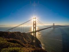 Golden Gate Bridge Battery Spencer Solstice Sunrise California Fine Art Fuji GFX100 Landscape Photography! Ocean Art Seascape!  Elliot McGucken Master Medium Format Landscape Nature Photography Fuji GFX 100 & FUJINON Fujifilm GF Lm Wr Lens Wide Angle