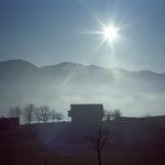 Farm with a View  (Nikon 35Ti / Portra 400)