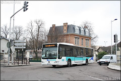 Mercedes-Benz Citaro – Athis Cars (Keolis) / STIF (Syndicat des Transports d'Île-de-France) – Transilien SNCF n°099122 - Photo of Menucourt