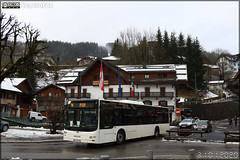 Man Lion's City – SAT Thonon (SA des Autos Transports du Chablais et du Faucigny) / Morzine Avoriaz – Portes du Soleil n°543