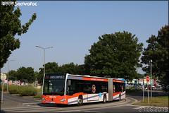 Mercedes-Benz Citaro G C2 – Keolis Caen Mobilités / Twisto n°457 - Photo of Basly