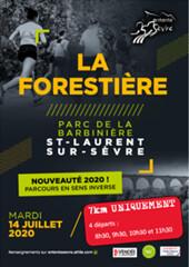 28 em compétition, Mardi 14 juillet 2020, Trail La Forestiere, Saint Laurent sur Sevre, 7 km