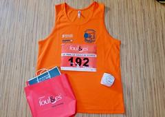 29 em compétition, Dimanche 9 aout 2020, Trail La Roche Posay, 9 km, 51em