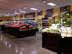 Cozy-looking produce department