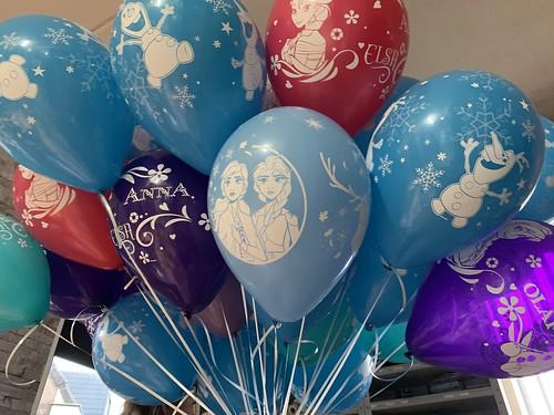 Heliumballonnen Disney Frozen