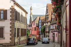 Rue Principale, Heiligenstein, Alsace, France