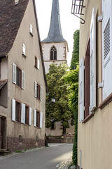 Rue Principale, Mittelbergheim, Alsace, France - Photo of Triembach-au-Val