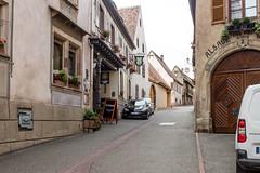 Rue Rotland, Mittelbergheim, Alsace, France