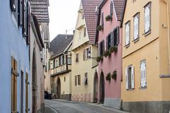 Rue Principale, Bernardswiller, Alsace, France