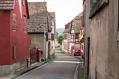 Rue de l'École, Bernardswiller, Alsace, France