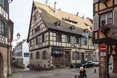 Rue des Bouchers, Barr, Alsace, France