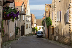 Rue Principale, Mittelbergheim, Alsace, France