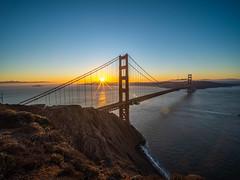 Golden Gate Bridge Battery Spencer Solstice Sunrise California Fine Art Fuji GFX100 Landscape Photography! Ocean Art Seascape!  Elliot McGucken Master Medium Format Landscape Nature Photography Fuji GFX 100 & FUJINON Fujifilm FUJIFILM GF Lens Wide Angle