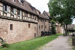 Rue des Remparts, Riquewihr, Alsace, France