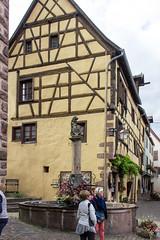 Fontaine de la Sinne, Riquewihr, Alsace, France