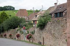 Ramparts, Riquewihr, Alsace, France