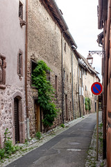 Rue Dite Sébastopol, Riquewihr, Alsace, France