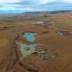 Fotos con dron de las lagunas de La Guardia (Toledo) de Marta Guzmán. 29-12-2020
