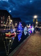 Winter Solstice Light Ships, Frederick, Maryland, December 2020
