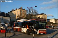 Iveco Bus Urbanway 12 CNG – Setram (Société d'Économie Mixte des TRansports en commun de l'Agglomération Mancelle) n°212