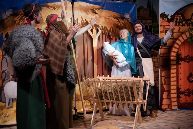 Рождественская постановка (декабрь, 2020)
