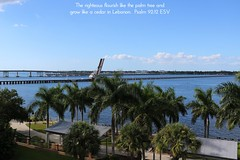 View from the Courtyard by Marriott, Bradenton, Manatee County, Florida