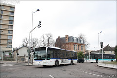 Mercedes-Benz Citaro – STIF (Syndicat des Transports d'Île-de-France) – Transilien SNCF n°308 - Photo of Menucourt