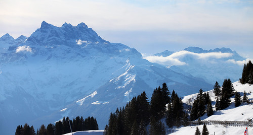 Swiss Alps Mountains