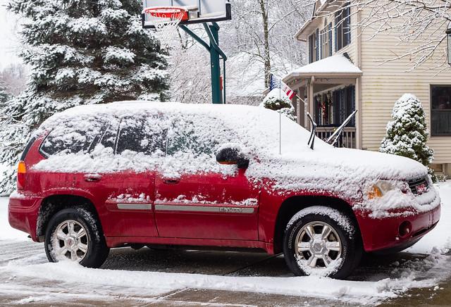 Photo:GMC Envoy in the snow By hz536n/George Thomas