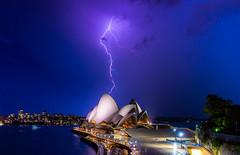 2016-12 December 09 Sydney Opera House Lightening