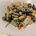 Fish skin salad