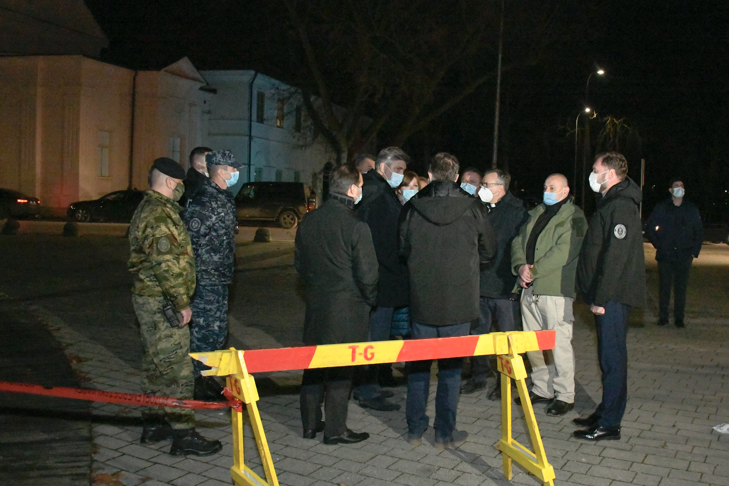 Angažman hrvatske vojske u području pogođenom potresom