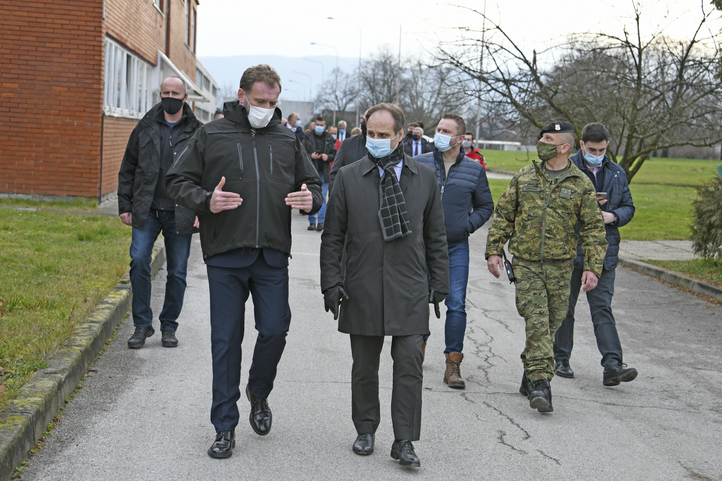 Ministar Banožić u sklopu posjeta Petrinji obišao i Mesnu industriju Gavrilović