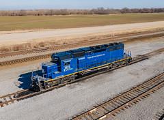 Trans-Global Solutions ECRX 3015 (SD40-2) UP Marion IMF Ebony, Arkansas