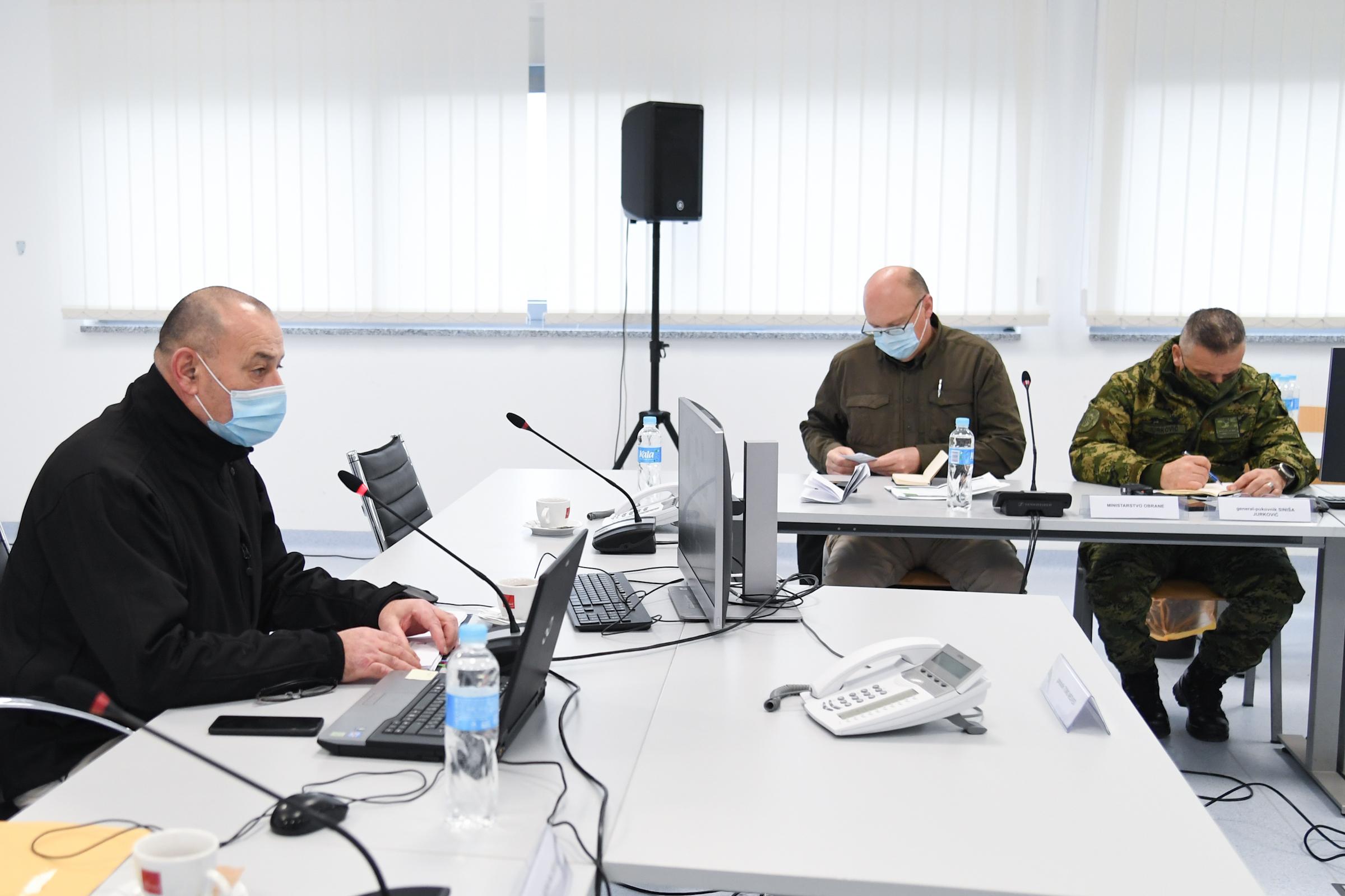 Zahvala ministru Banožiću i admiralu Hranju na potpori u uspostavljanju Stožera civilne zaštite
