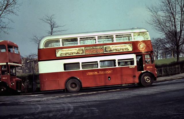 Photo:91-056  AEC Routemaster/Park Royal No. RM2116 turns out of Elder Road and starts the climb up Central Hill to Crystal Palace By Clive G'