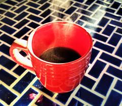 Hot 'n' Steamy Morning Coffee