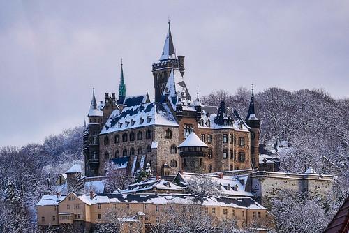 Das Schloss in Wernigerode 2021