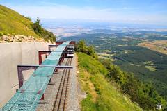 Panoramique des Dômes / Stadler GTW 2/6 - Sommet du Puy de Dôme - Photo of Mazaye
