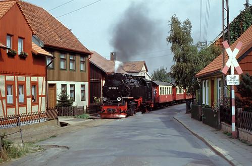 DR 99 7236 Wernigerode Kirchstraße 15.09.1991