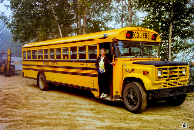 Photo:GMC 6000 Blue Bird n°117 - Autobus Chevrette By Alan_b_photography