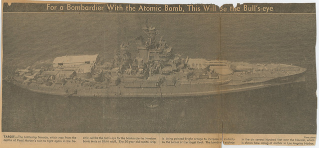 Photo:For a Bombardier With the Atomic Bomb, This Will Be The Bull's-eye By rocbolt