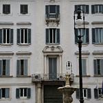Palazzo del Gallo di Roccagiovane;  Facciata su Piazza Farnese - https://www.flickr.com/people/82911286@N03/