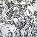 2010.01-2010.10[14] Shanghai Sanlintang Studio Pastel on paper Joint painting 上海三林塘工作室 纸上炭精条组画-37 (Sixtypies No.1 Part 六联画.一局部)