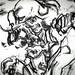 2010.01-2010.10[14] Shanghai Sanlintang Studio Pastel on paper Joint painting 上海三林塘工作室 纸上炭精条组画-36 (Sixtypies No.1 Part 六联画.一局部)