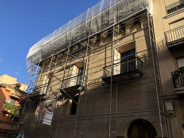 Restauración del alero del Palacio de Armijo